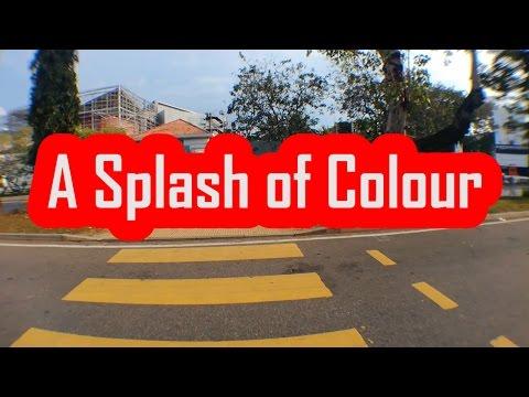 A Splash of Colour :)
