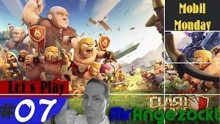 Let's Play Clash of Clans#7 - Besuch bei den Clan-Mitgliedern - COC [Mobil, HD+, deutsch]