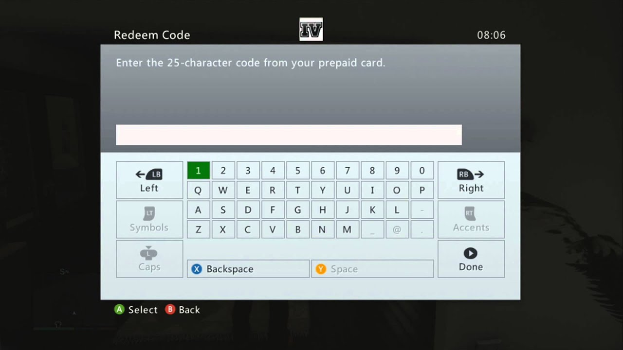 How to enter codes in GTA