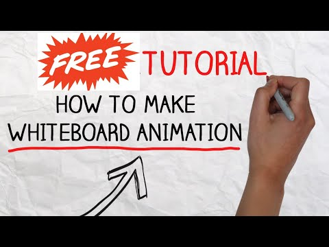 How to create a Whiteboard Video for free: The Dead Simple Guide!