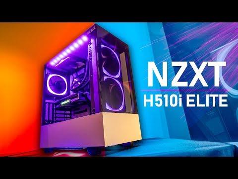 This PC Case Looks MAGNIFICENT! NZXT H510i Elite