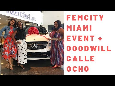Spend the Day With Me FemCity Miami + Goodwill Calle Ocho