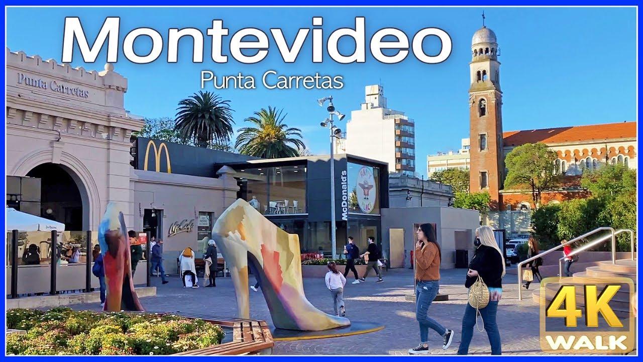 【4K】WALK Montevideo URUGUAY 4K video Shopping Mall UY travel