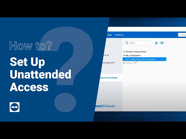 How to: Set up Unattended Access