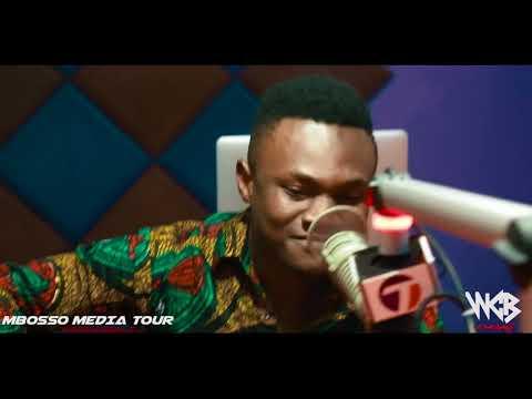 Mbosso - Watakubali Media tour ( times fm Tanzania )part1