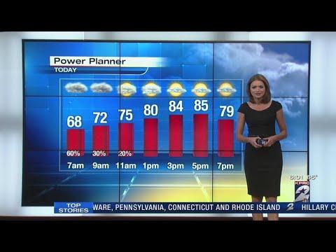 Strong storms move through Houston area