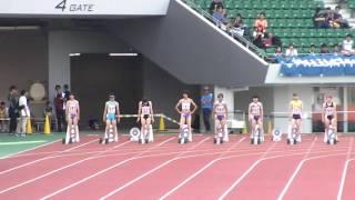 【陸上】長崎県高校総体2017 女子100m 渡邊  輝選手