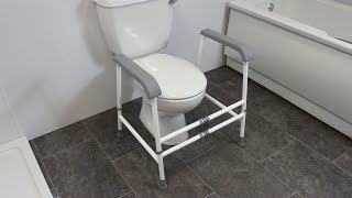 Nuvo™ Width Adjustable Free Standing Toilet Frame Review