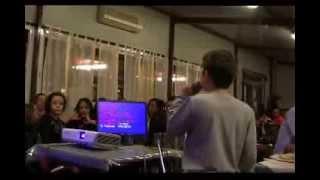 QdK karaoke Fabrizio canta TAPPETO DI FRAGOLE dei Negramaro