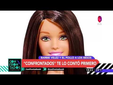 """La foto de Barbie Vélez y """"El Pollo"""" a los besos"""