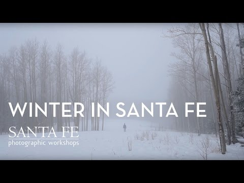 Winter in Santa Fe