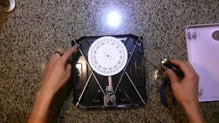 How to fix an analog dial bathroom scale