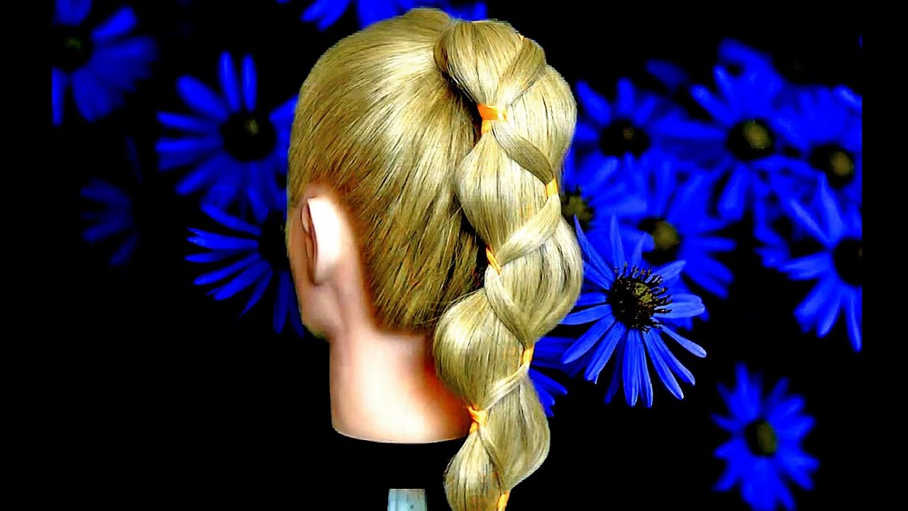 прически на длинные волосы смотреть фото