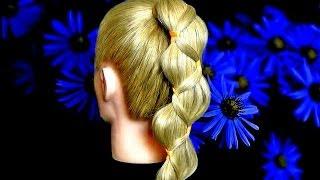 Красивые прически с косами. Прически для длинных волос.