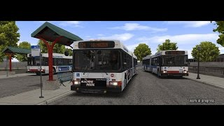 OMSI 2 Bus Simulator Chicago Downtown DLC Live Commentary