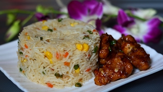 ★ How to make Fried Rice | Corn Fried Rice | Chinese Food | Corn Recipes