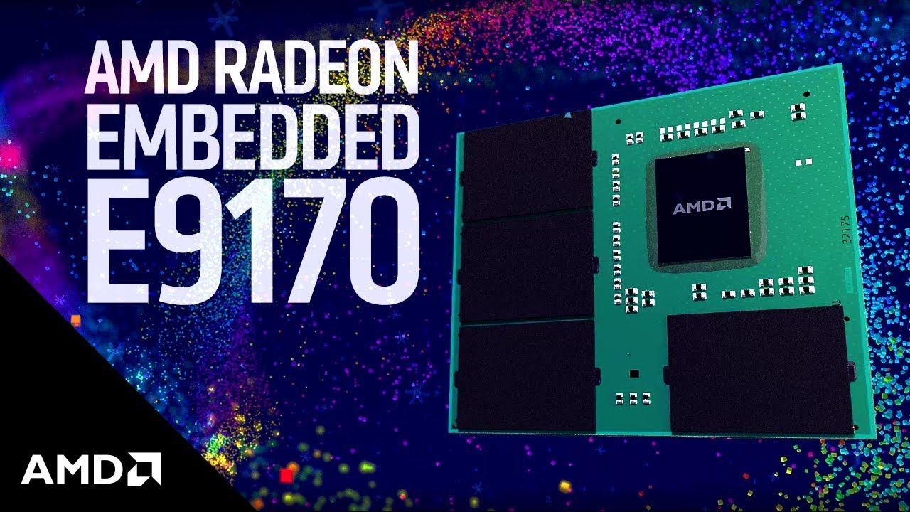 AMD Embedded Radeon E9175 Drivers (2019)