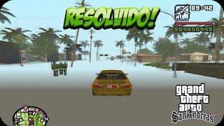 Resolvido: Cenário do GTA San Andreas Sumindo - Stream Memory Fix 2.0