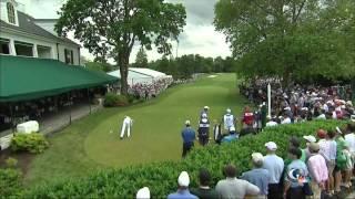 Tiger, Rory, Adam Scott Tee Off