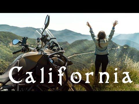 CALIFORNIA MOTORCYCLE  ADVENTURE! | (WILDFLOWER SUPER BLOOM)