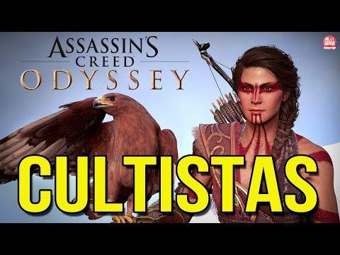 ASSASSIN'S CREED ODYSSEY - CAÇANDO OS CULTISTAS e Fazendo Secundárias!