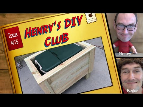 Project: Building a cooler stand (Henry's DIY Club #3)