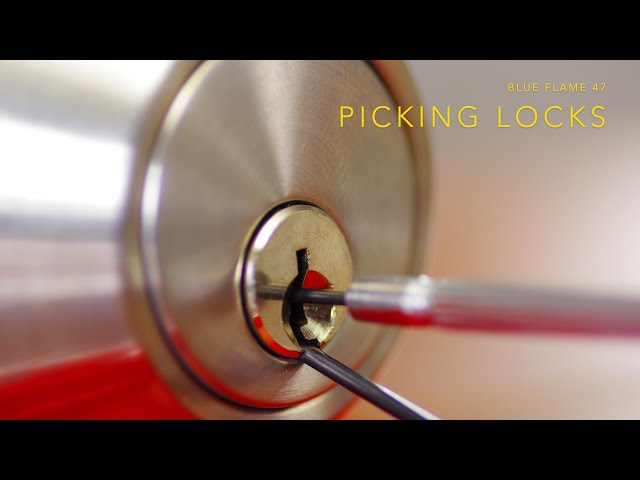 Session 1 - Picking Locks