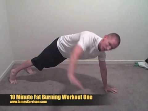 10 Minute Fat Burning Workout with Hobart Fitness ...