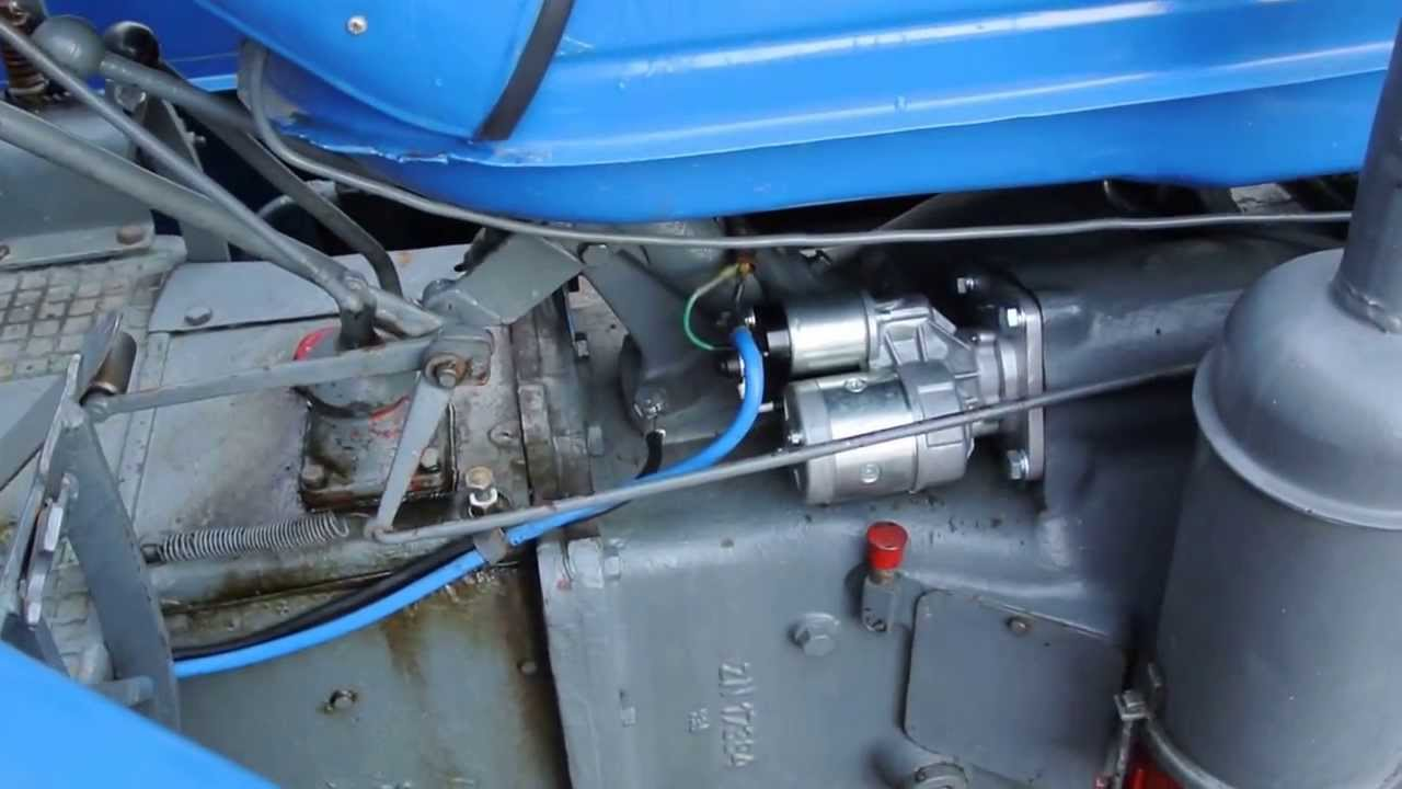Reduktorovy Starter Zetor 25 Teply Start Akumulator 100 Ah 001 Youtube