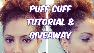 Puff Cuff: Review / Tutorial! - CurlyKimmyStar Thumbnail
