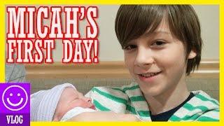 Baixar MICAH'S FIRST DAY!  |  BIRTH VLOG! |  KITTIESMAMA 82