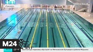 """Новый бассейн в """"Лужниках"""" сравнили с океаном - Москва 24"""