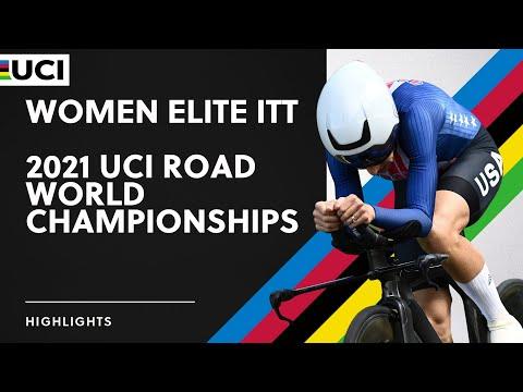 Women Elite ITT Highlights | 2021 UCI Road World Championships