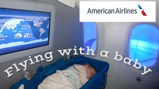 Flying with a baby on American Airlines - AKL to LAX