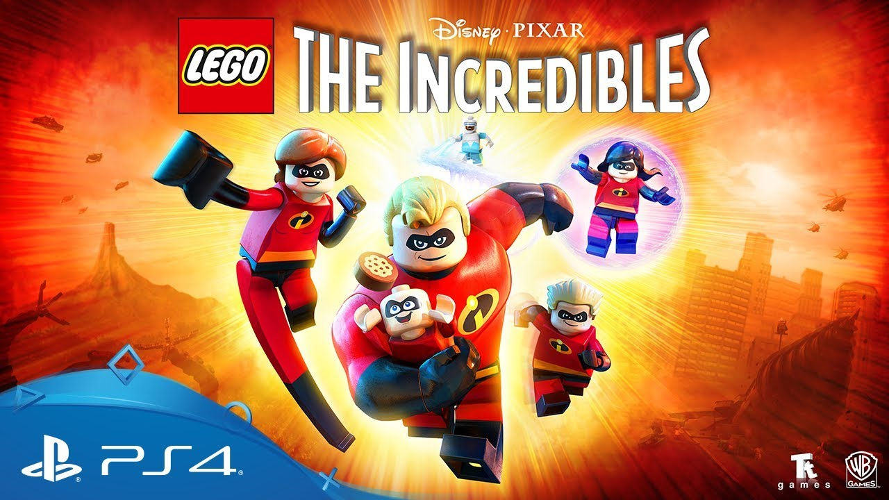 Lego The Incredibles Announcement Trailer Ps4 Youtube