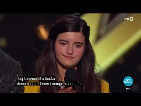 Angelina Jordan - News Feature On Norwegian TV NRK1 (eng Sub)