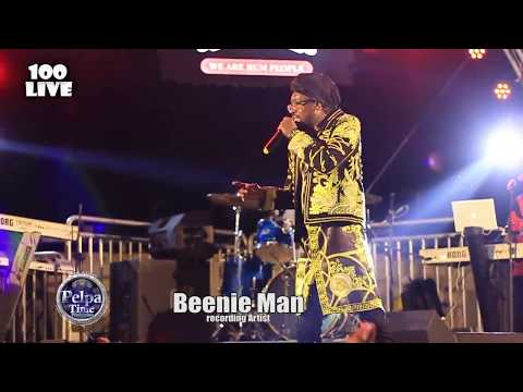 Beenie Man 40 year in music and still going strong.