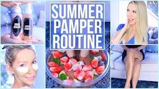 DIY Summer Pamper Routine!