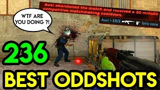"CSGO - ""THE MOST ANNOYING ROUND EVER !"" - BEST ODDSHOTS #236 (+GIVEAWAY)"