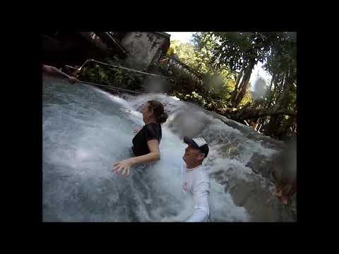 Dunn's River Falls Jamaican Honeymoon