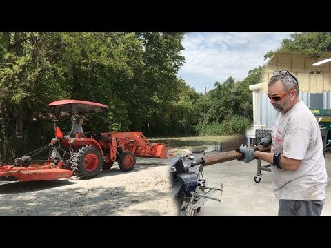 Kubota Bush Hog Repair Fail - How would you Fix it? - YouTube