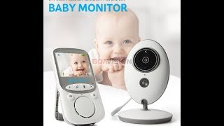 Best Wireless LCD Audio Video Baby Monitor review on #AliExpress