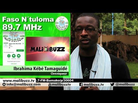 Retrouvez Ibrahima Kébé TAMAGUIDE dans Faso N´tuloma - 23H00 sur Radio Salam 89.7 MHz (Bambara)