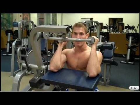 How To: Arm Extension (Cybex)
