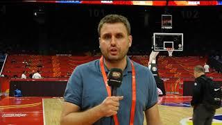 Darko Plavšić Posle Pobede Srbije Nad Italijom na Mundobasketu   SPORT KLUB Košarka