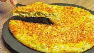 Сырный пирог с зеленью. Рецепт от Всегда Вкусно.