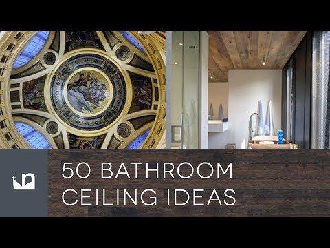 50 Bathroom Ceiling Ideas