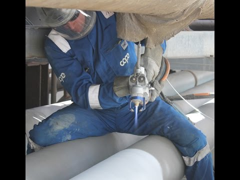 TSA (thermal Spray Aluminium) To Protect Against CUI (Corrosion Under Insulattion)