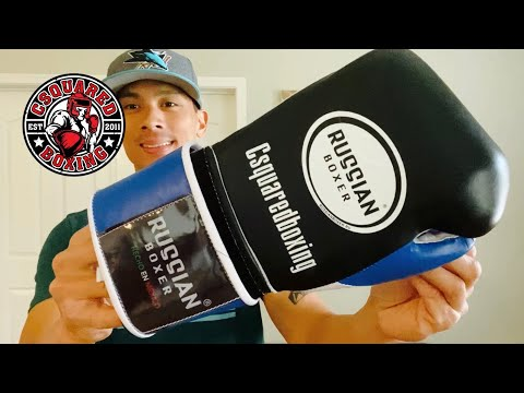 Russian Boxing Pro Velcro Training Gloves REVIEW- MEXICAN MADE GLOVES WITH GREAT FEEL AND PROTECTION