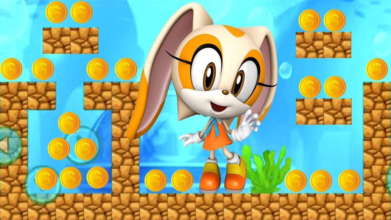 Sonic Dash - Juegos Para Niños Pequeños - Cream Nuevo Personaje